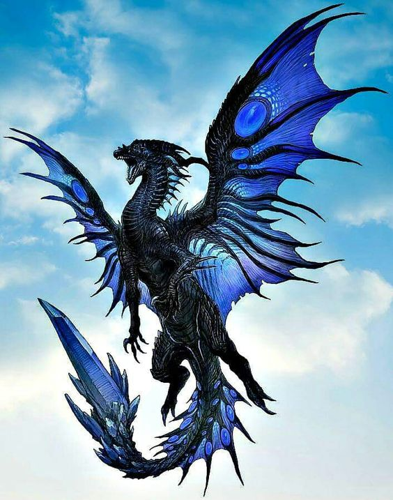 a-dragon-blue-dragon