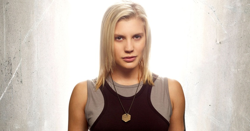 BATTLESTAR GALACTICA, Katee Sackhoff, (Season 4), 2003-,. Photo: Justin Stephens / © SCI FI CHANNEL