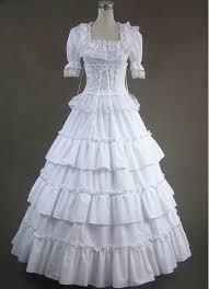 white lolita dress
