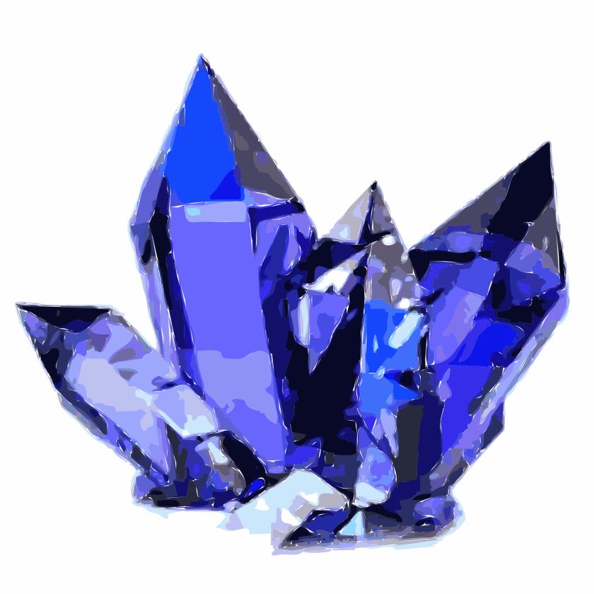 blue-crystals-vector-clipart