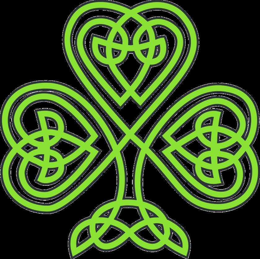 Celtic Knotwork Shamrock